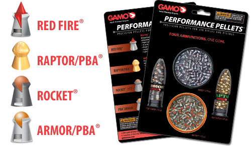 Gamo High Performance Combo Pack .177 Cal Pellet Grains 400ct